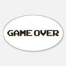 Cute Game over Decal