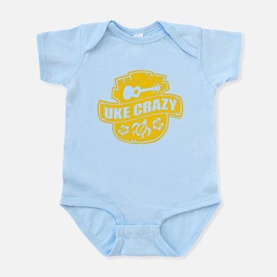 Uke Crazy Infant Bodysuit