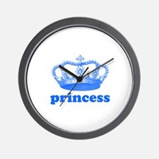 princess (blue) Wall Clock