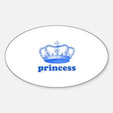 princess (blue) Decal