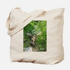 Pheasant Abstract Tote Bag