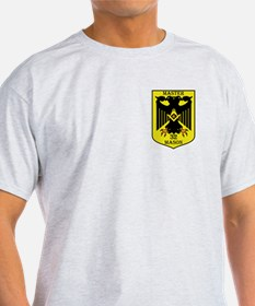 32nd degree Master Masons Eagle Ash Grey T-Shirt
