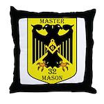 32nd degree Master Masons Eagle Throw Pillow