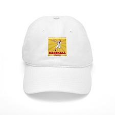 baseball player batting Baseball Cap
