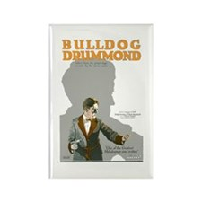 Bulldog Drummond Rectangle Magnet