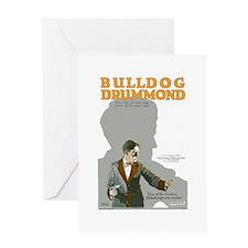Bulldog Drummond Greeting Card