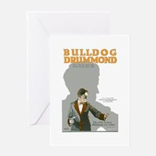 Bulldog Drummond Greeting Card