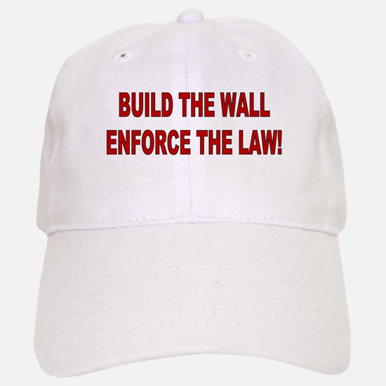 Build The Wall Baseball Baseball Cap
