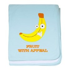 Fruit with Appeal - Banana baby blanket
