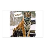Tiger Meow Postcards (Package of 8)