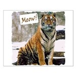 Tiger Meow Small Poster