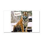 Tiger Meow Car Magnet 12 x 20