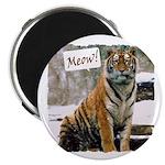 Tiger Meow Magnet