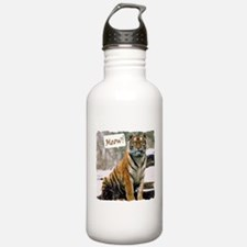 Tiger Meow Water Bottle