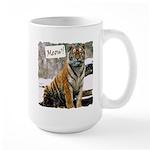 Tiger Meow Large Mug