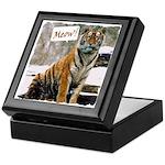 Tiger Meow Keepsake Box