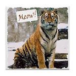 Tiger Meow Tile Coaster