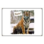 Tiger Meow Banner