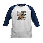Tiger Meow Kids Baseball Jersey
