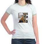 Tiger Meow Jr. Ringer T-Shirt