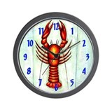 Crawfish Wall Clocks