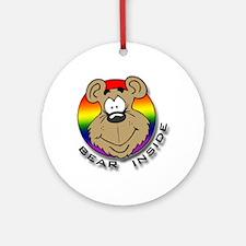 Bear Inside Ornament (Round)