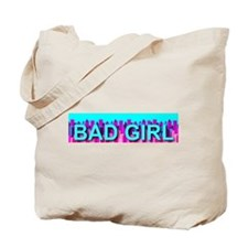 Bad Skyline Girl Tote Bag