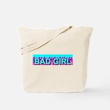 Bad Skyline Girl Tote Bag