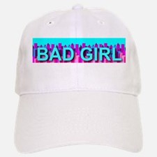Bad Skyline Girl Baseball Baseball Cap