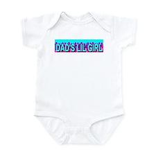 Dad's Lil Girl Skyline Infant Creeper