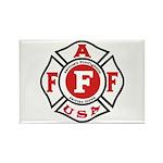 AAFF Firefighter Rectangle Magnet