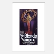 The Blonde Vampire Postcards (Package of 8)
