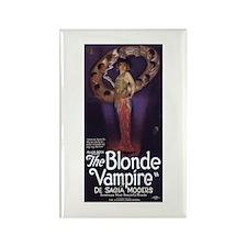 The Blonde Vampire Rectangle Magnet