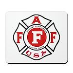 AAFF Firefighter Mousepad