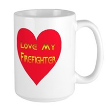 Love My Firefighter Mug