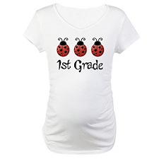 1st Grade School Ladybug Shirt