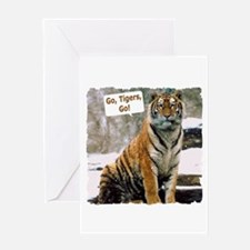 Go Tigers, Go! Greeting Card