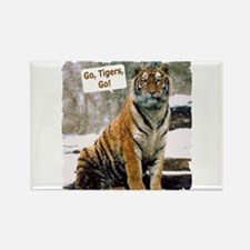 Go Tigers, Go! Rectangle Magnet