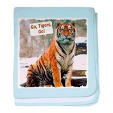 Go Tigers, Go! baby blanket