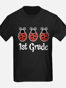 1st Grade School Ladybug T