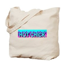 Hot Chick Skyline Tote Bag