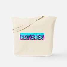 Hot Chick Skyline Tote Bag