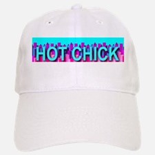 Hot Chick Skyline Baseball Baseball Cap
