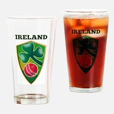 Cricket Ball Ireland Pint Glass