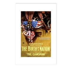 The Birth Of A Nation Postcards (Package of 8)