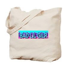 Bad Lil Skyline Girl Tote Bag