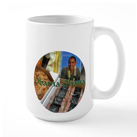 Obama Ohana 2012 Large Mug