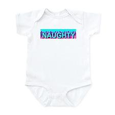 Naughty Skyline Infant Creeper