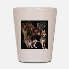 GSD collage Shot Glass