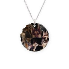 GSD collage Necklace